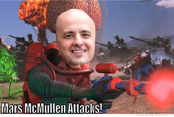Mars McMullen Attacks!