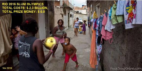 Rio 2016 Slum Olympics