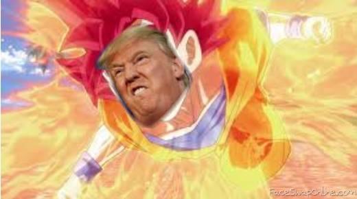 Super Saiyan God Trump