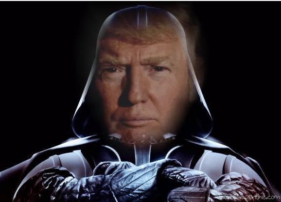 """Darth """"Trump"""" Vader"""