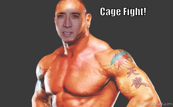 Get Ready For a Cage Fight!