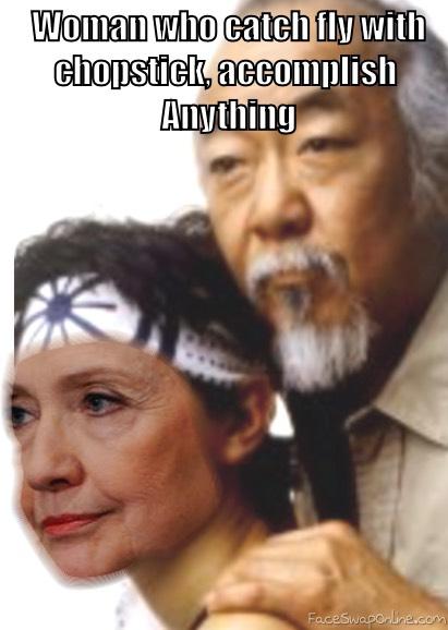 karate Hillary