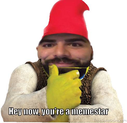 Hey now, you're a memestar