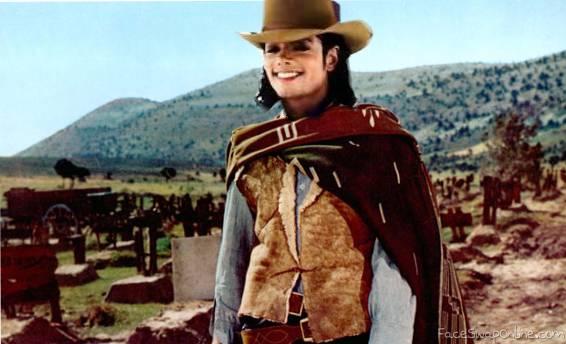 Michael Jackson as a Cowboy