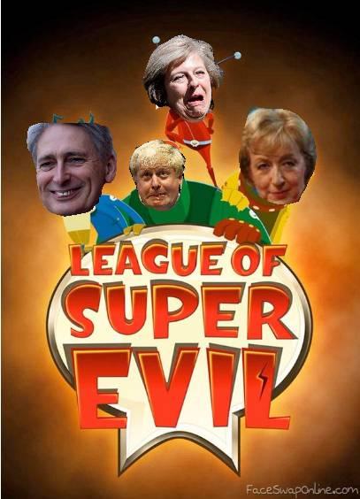 league of super evil Tories