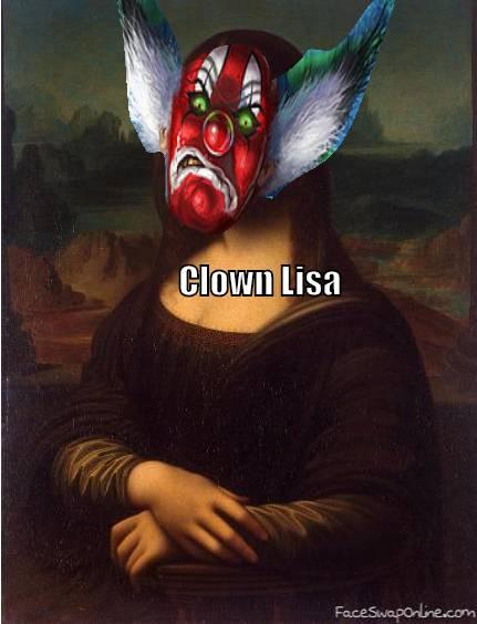 Clown Lisa