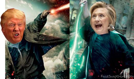 Donald Potter and Lord hillary