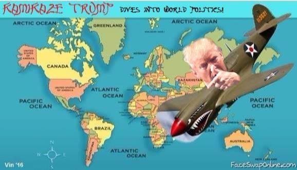 Kamikaze Trump