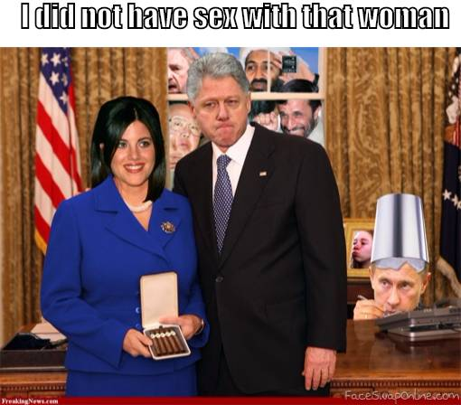 Slick Willy Lying Again