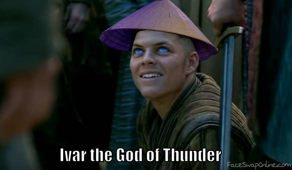 When Vikings is going too far with the blue eyes madness