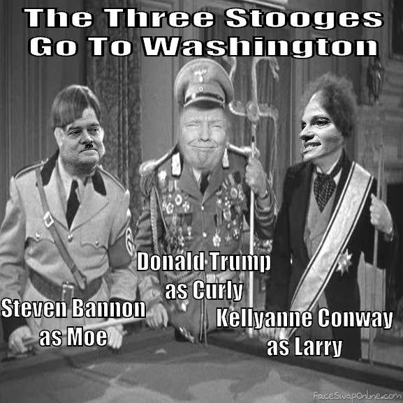 Three Stooges go to washinton