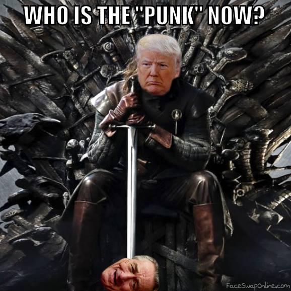 Donald Trump depunked