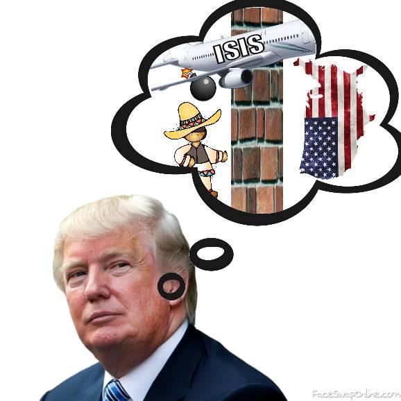 In Your Dreams, Donald Trump