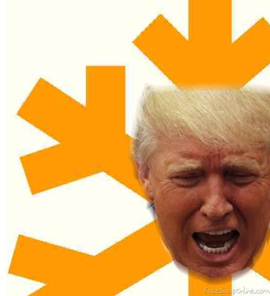 Poor President Snowflake | Face Swap Online