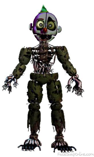 Springtrap and Ennard fusion