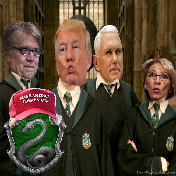 Make Slytherin Great Again