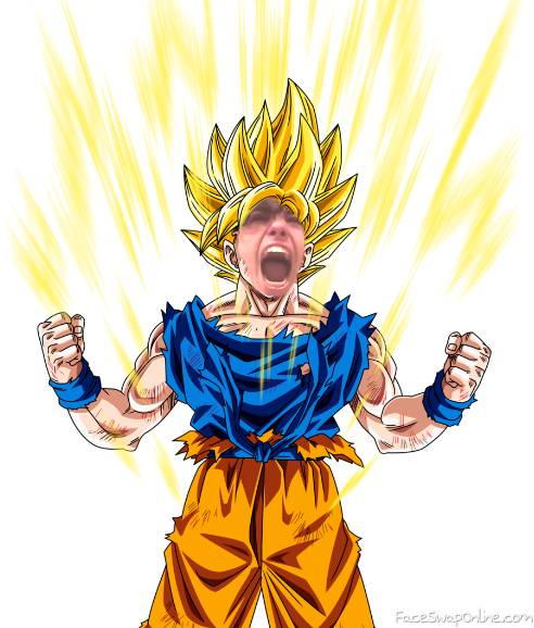 This is my super saiyan