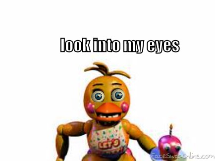 WARNING: toy chica will stare deep into your soul