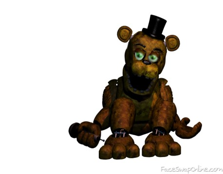 fixed withered golden freddy