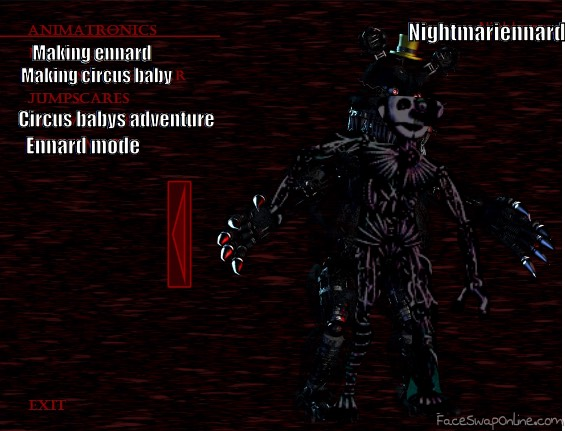 fnaf 4 sister location extra menu