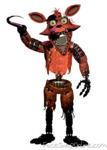 partially fixed withered foxy
