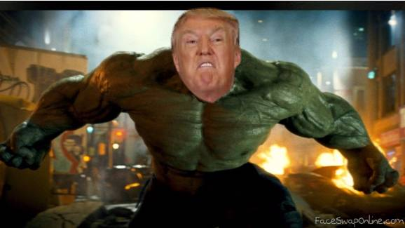 the incredible Trump