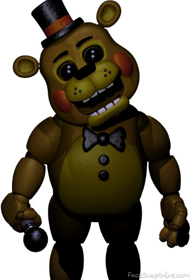 toy golden freddy