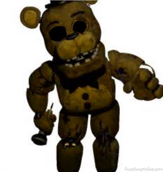 withered golden freddy fazbear
