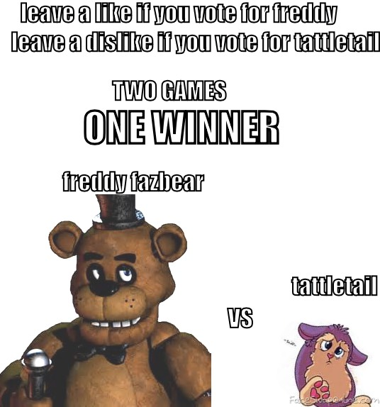 FNAF VS TATTLETAIL
