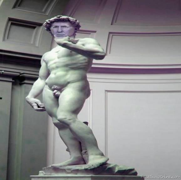 Michelangelo's Trump