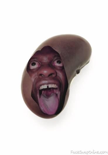 funny face bean Mr