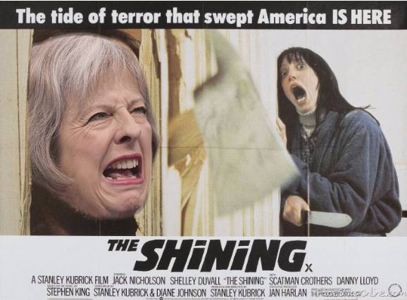 The Shining in May