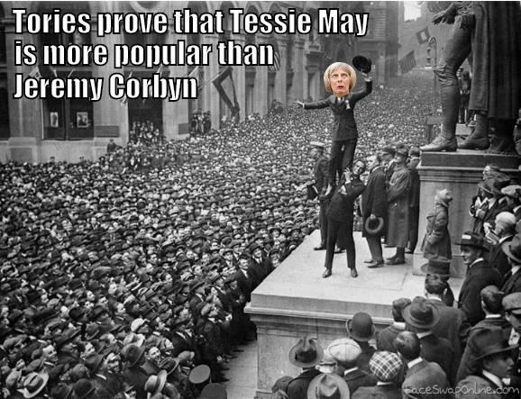 Theresa May and Tory Spin