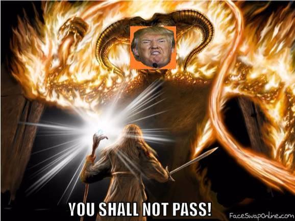 Trump vs Gandolf