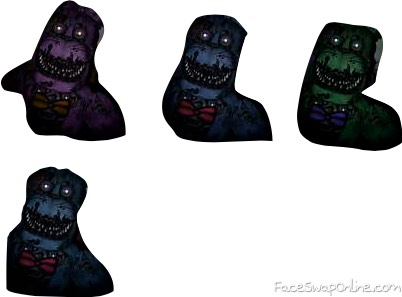 all fnaf 4 bonnies