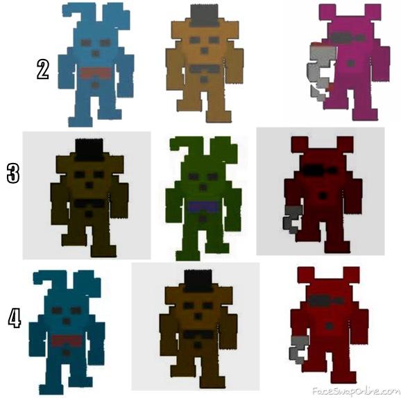 fnaf minigames