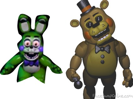 the new and improved fredbears family diner