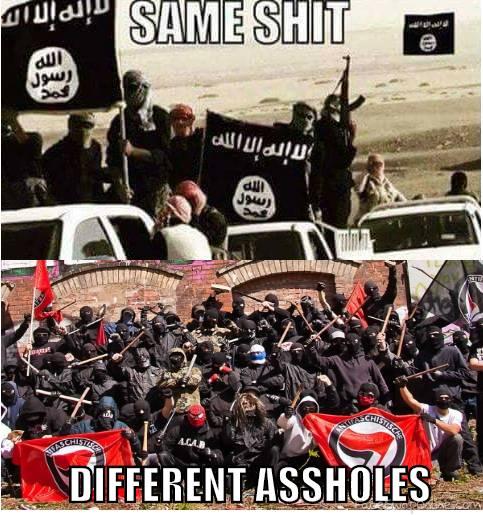 Antifa = ISIS