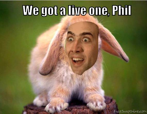 We got a live one, Phil