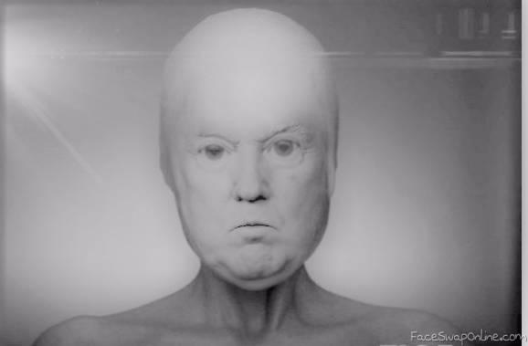 Alien Version Trump