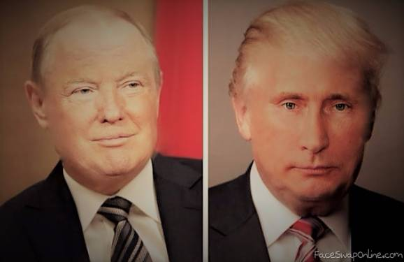 Donald Putin and Vladimir Trump