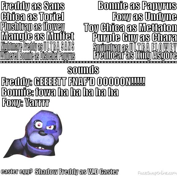 FNAFtale Characters