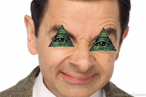 Illuminati confirmed MR Bean
