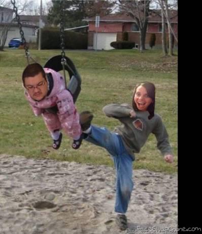 Kickin Baby Martin