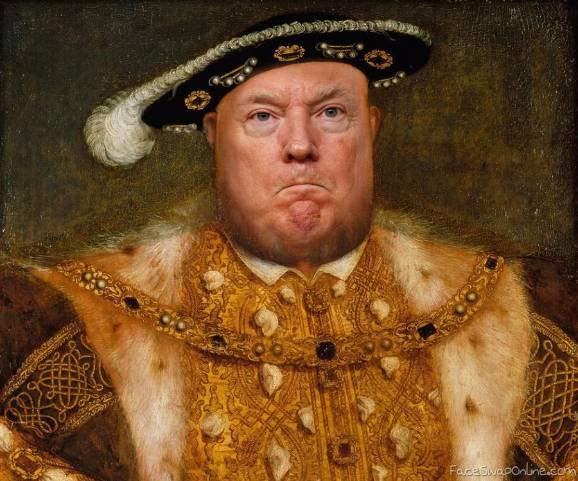 King Henry Trump VIII