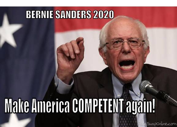 Make America COMPETENT again!!