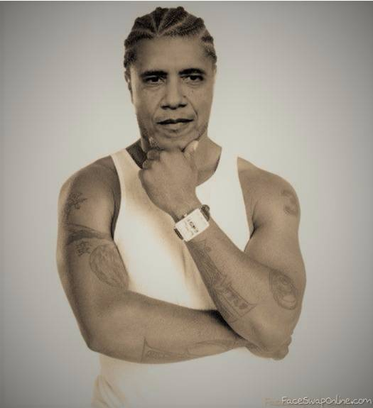 Rapper Obama