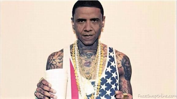 Thug Life Obama