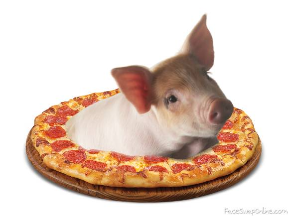 pig pizza