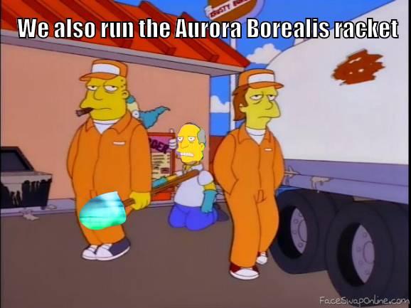 Aurora Borealis Racket